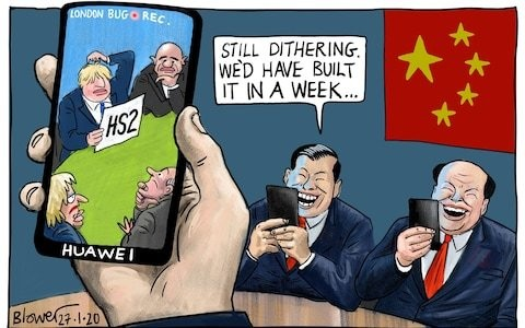 How have we got to a position where there is no alternative to Huawei?