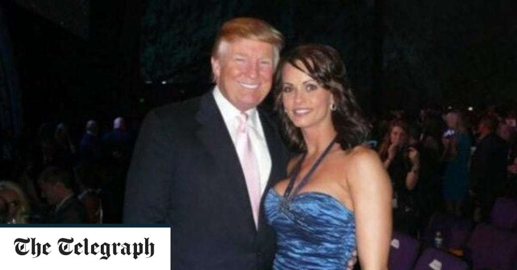 Ex-Playboy model Karen McDougal who claims she had affair with Donald Trump alleges he tried to pay her after first sexual encounter