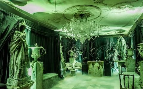 How the super-rich do Halloween at home, from fake gravestones to £40,000 parties with a cast of spooky performers