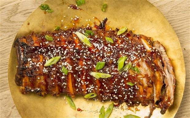 Sticky Chinese pork ribs recipe