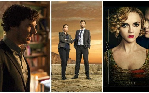 Sherlock, Broadchurch and the return of Christina Ricci: the best television shows in 2017