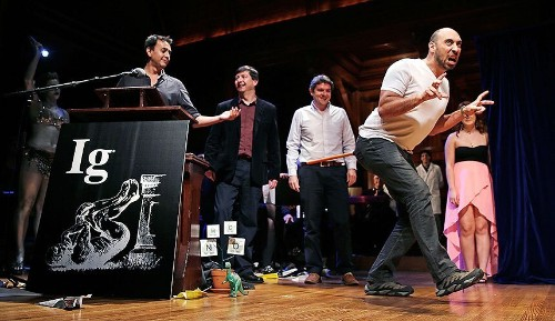 The parody Ig Nobel Awards 2015, in pictures - Telegraph