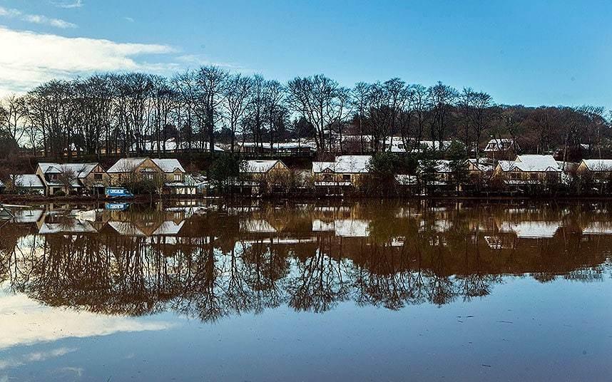 The UK Flooding Crisis - Magazine cover