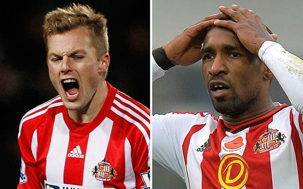 Sunderland news: Jermain Defoe and Sebastian Larsson could be axed by Sam Allardyce