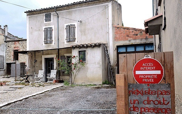 British couple walled into French home by 'neighbours from hell'