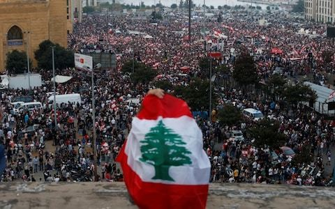 Lebanon's protesters reject government's economic reforms with chants of 'thieves, thieves!'