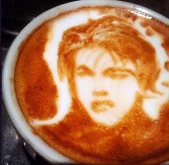 Coffee Art - Telegraph
