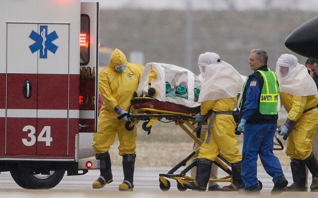 Ebola doctor arrives in US for treatment