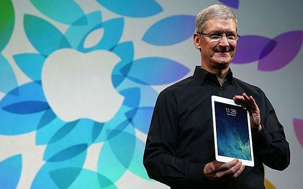 Apple working on products no one has guessed at, says Tim Cook