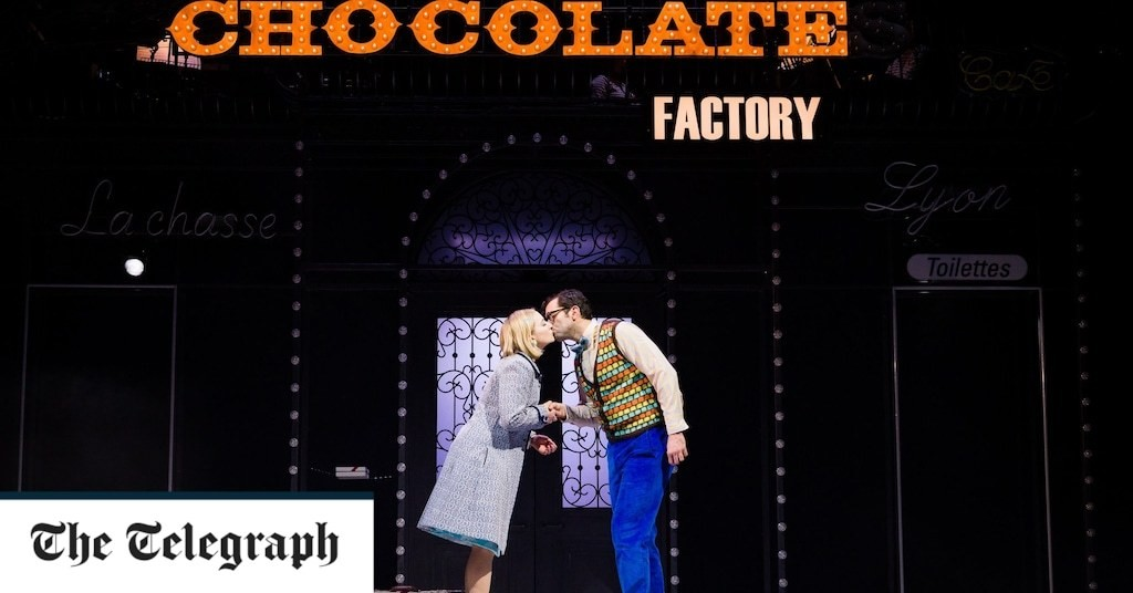 Romantics Anonymous review, Bristol Old Vic / Wise Children online: a charming, chocolatey love story that's gooey on the outside and gooey within