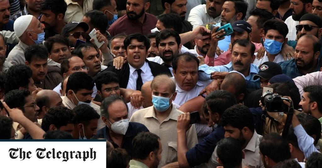 Pakistan opposition leader Shehbaz Sharif arrested