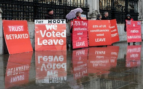 Leave MPs must take responsibility for the horrors of a long Brexit delay