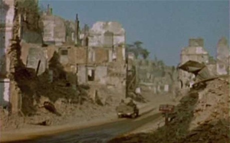 World War Two as you have never seen it: extremely rare colour footage of D-Day invasion released
