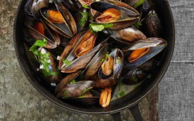 Stephen Harris: perfect moules marinière