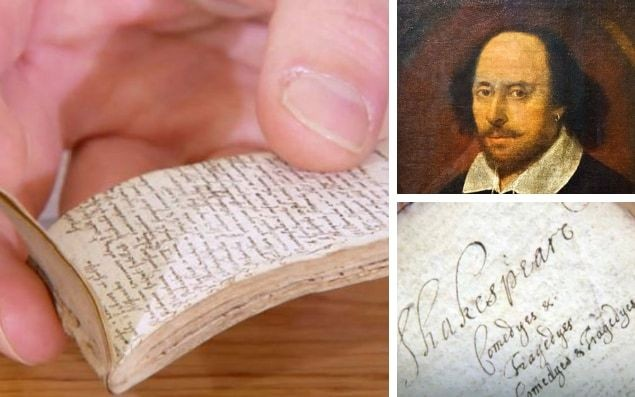 Notebook written by unknown 17th-century William Shakespeare scholar leaves Antiques Roadshow expert 'trembling'
