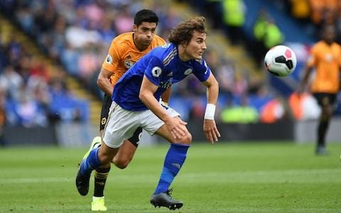 Caglar Soyuncu emerges as new cult hero at Leicester City as Harry Maguire replacement