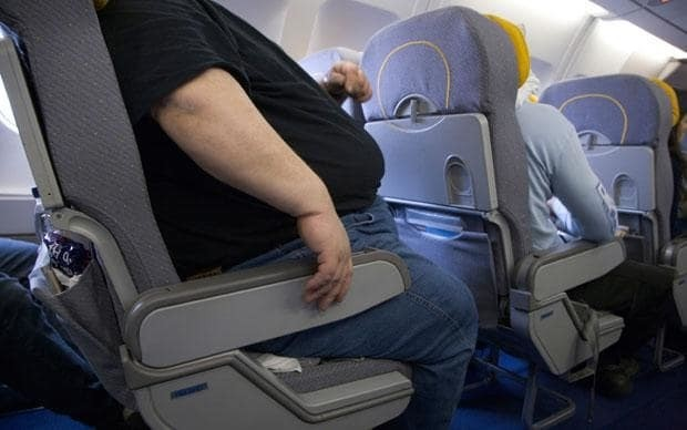 What it's like being the fat person on a plane