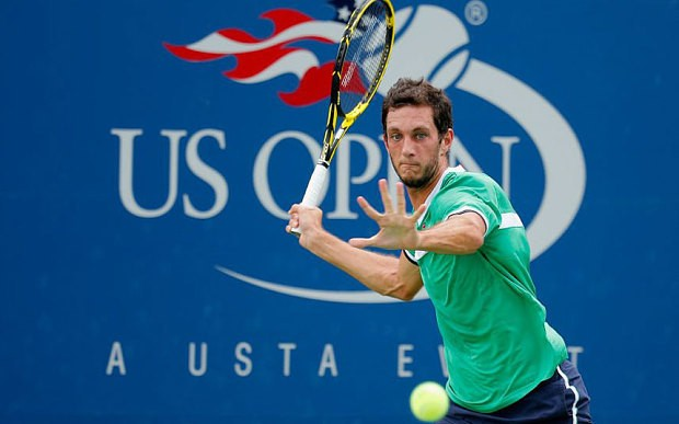 British tennis number two James Ward's unlikely new mentor is fashion's Ted Baker