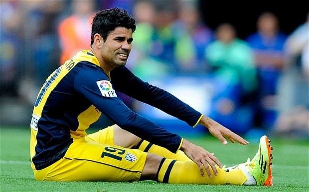Champions League final 2014: Atletico Madrid's Diego Costa undergoes controversial muscle treatment