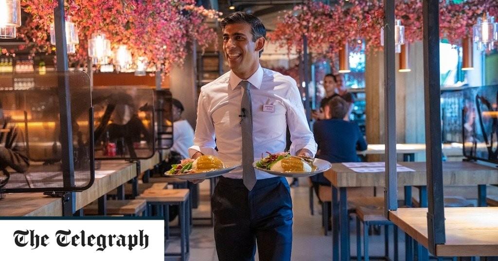 Sunak's discount dining scheme boosts restaurants