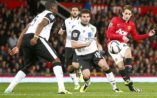 Manchester United stars Javier Hernandez, Wilfried Zaha and Adnan Januzaj offer glimpse of future front line