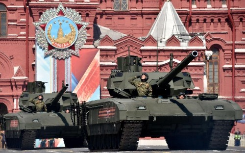 UK military intelligence issues warning over Russian supertank threat