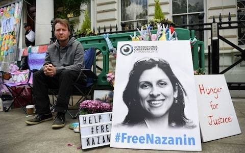 Iran tanker crisis 'ominous' for Nazanin Zaghari-Ratcliffe, husband says