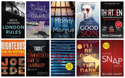 The best thrillers and crime fiction of 2018 (so far)