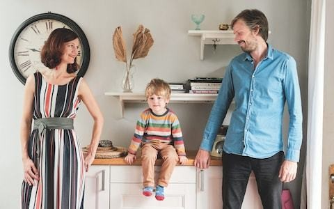 'We tried to split parenting 50:50... But it was harder than we thought'