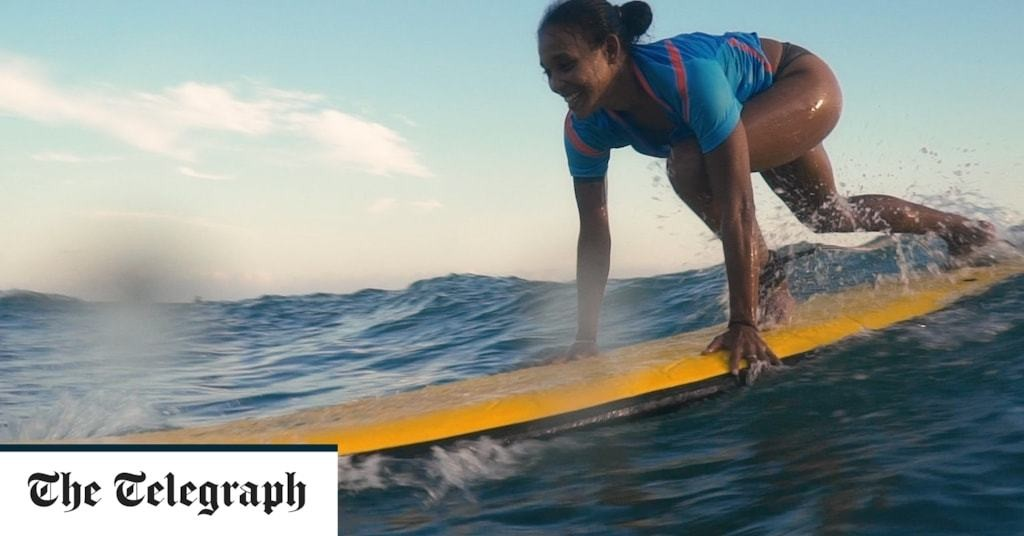 Imani Wilmot, the surf instructor: 'If you googled black female surfer, you would only see my face'
