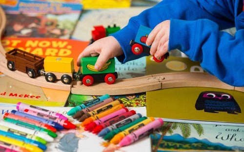 Too many toys are bad for children, study suggests