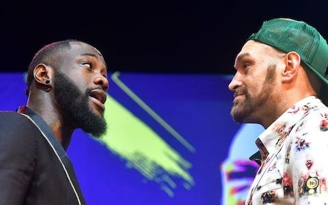 Tyson Fury predicts second-round Deontay Wilder KO in rematch