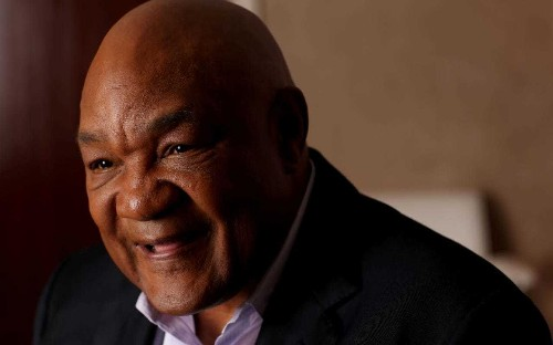 George Foreman challenges Steven Seagal to a 10-round fight in Las Vegas