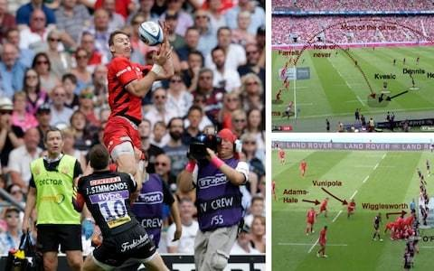 How Saracens 'got up off the canvas' to overhaul Exeter Chiefs in an enthralling Premiership final