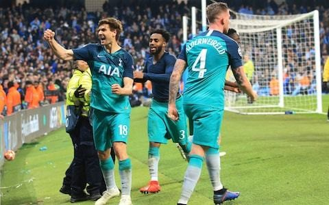 Bonkers, barmy, brilliant... Tottenham knocking out Manchester City was sport at its very best