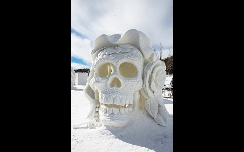 Winners of the 2016 International Snow Sculpture Championships
