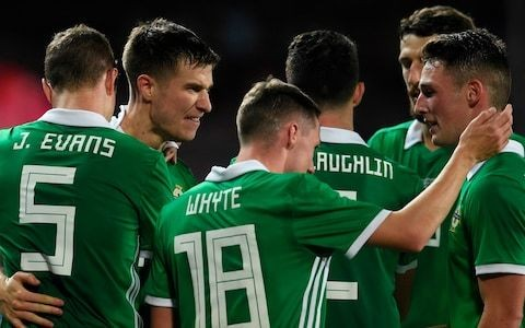 Northern Ireland beat Czech Republic for first away friendly win in 13 years