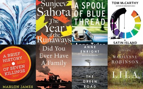 What made the shortlist for the 2015 Booker Prize?