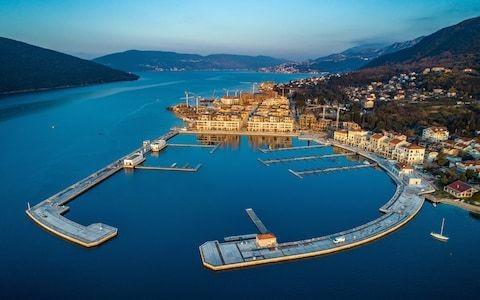 The Mediterranean's newest luxury destination – in a former Yugoslav military base