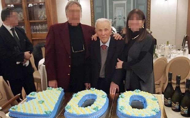 'World's oldest mafia don' hosts extravagant 100th birthday party