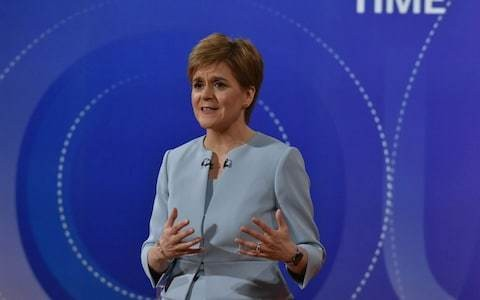 Nicola Sturgeon claims Jeremy Corbyn will back indyref2 next year if she can make him PM