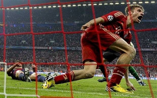 Bayern Munich 4 Barcelona 0: match report