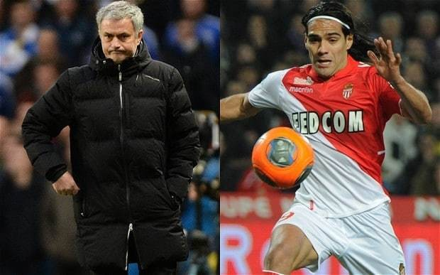 Chelsea manager Jose Mourinho drops major hint that he is insterested in Monaco striker Radamel Falcao