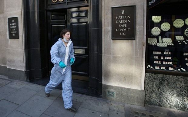 Holborn fire 'could be linked to same gang behind Hatton Garden diamond heist'