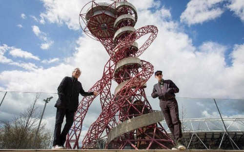 Anish Kapoor: Boris 'foisted' new slide on my sculpture