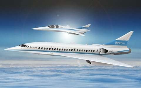 'New Concorde' commercial supersonic flight startup gets $10m Japan Airlines backing