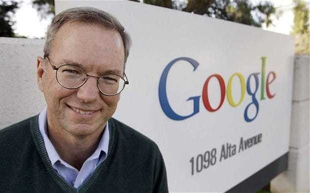 Google's Eric Schmidt: There's no question AI will put jobs at risk, but it's natural