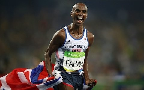 Mo Farah halts marathon career and returns to track to defend Olympic 10,000m title