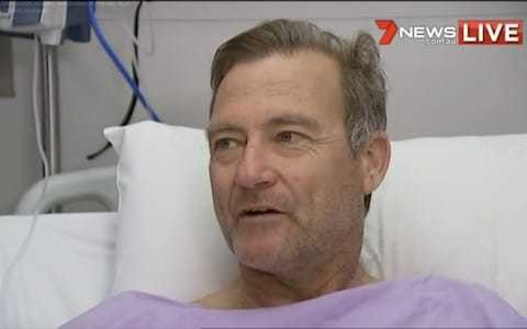 Australian hiker rescued after crawling for two days through bush with broken leg