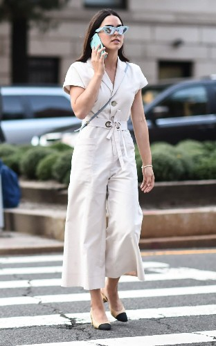 New York Fashion Week: the chicest street style looks from boilersuits to mannish tailoring